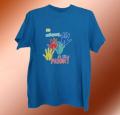 Печать на футболках шелкотрафаретным способом