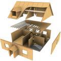Монтаж домов по канадской панельной технологии. Монтаж и строительство из сендвич-панелей