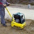 Rent of Ammann AVP 2620 vibrating plates, weight is 135 kg. Engine HATZ diesel