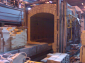 Brickwork envelope of boilers