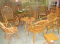 Мебель плетеная с лозы, стулья, кушетки, табуретки и столы для отдыха. Киев