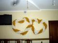 Украсить свадьбу воздушными шариками