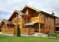 Замовити будівництво  дерев`яного будинку під ключ