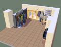 Проектирование магазина 3D