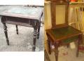 Реставрация, восстановление старинной мебели - стол с зеркалом. Киев