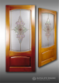 Production of stained-glass windows just for decoration, door stained-glass windows