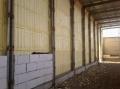 Работы по напылению пенополиуритана. Теплоизоляция стен помещений