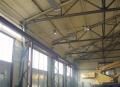 Теплоизоляция напылением ППУ в Украине. Теплоизоляция ангаров, складских помещений и прочих сооружений промышленного назначения