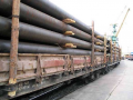 Transport logistics, Transportation of pipes