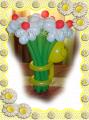 Букет из шаров - ромашки