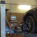 Установка углов развал-схождения колес автомобиля