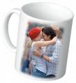 Фото на белую чашку