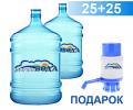 Доставка питьевой воды ТМ Здорова Вода домой и в офис