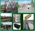 Строительство малых искусственных сооружений на железных дорогах