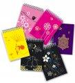 Press of notebooks