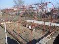 Изготовление металлоконструций методом сварки, изготовление теплиц арочных, навесов, пергол, парников, оранжерей.