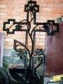 Кресты и ограждения для могил кованые
