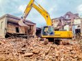 Dismantling (dismantle) of buildings and constructions