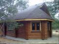 Строительство домов из оцилиндрованного бруса в Украине