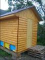 Пчелиный домик для лечения  сруб