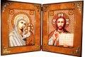 Новый вид оформления вышивок  «Православный складень»