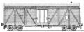 Перевозки грузовые крытыми вагонами - 4-осный двухъярусный для скота, модель 11-240 - без служебного помещения модель 11-245 - со служебным помещением