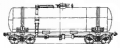 Freight transportation by the 4-axis tank for gasoline and light oil products, model 15-869