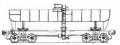 Перевозки грузовые 4-осной цистерной для этиловой жидкости, модель 15-1414