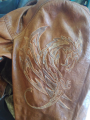 Repair of leather jackets
