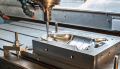 Production of pressing casting molds of steel products