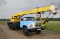 Rent of the KS 3575 10 truck crane of tons