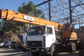 Services of the KTA 18 truck crane