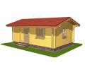 Дачные домики, дачи, домики для отдыха. Акция - 1350 грн. за м² по стене.