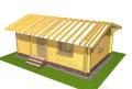Строительство дачных домиков в Украине. Акция - 1350 грн. за м² по стене.