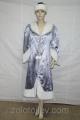 Шикарный костюм Снегурочки напрокат