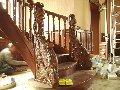 Художественная резьба лестниц