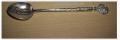 Лазерная гравировка серебряных ложек