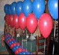 Оформление надувными шарами