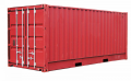 International transport in sea containers to Turkmenistan