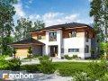 Проекты средних домов 150-200 м2 Вилла Александра Archon