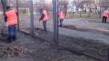 Прибирання прибудинкових територій, Київ