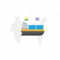Доставка контейнеров из  Израиля в Украину