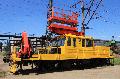 Ремонт автомотрисы АГВ модернизированый - для выполнения грузово-разгрузочных работ, строительства, монтажа, обслуживания и ремонта контактной сети и перевозки бригад рабочих к месту работы.