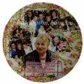Печать на тарелках, изготовление тарелок с Вашей фотографией, дизайном или текстом