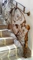 Производство кованой лестницы