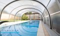 Installation of pavilions for pools
