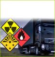 El transporte de las cargas peligrosas a Ucrania