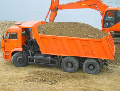 Transportations of nerudmaterial: crushed stone, elimination, sand, concrete across Vinnytsia region and beyond its limits.