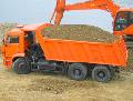 Перевозки нерудматериалов: щебень, отсев, песок, бетон по Винницкой области и за её пределами.