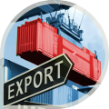 Customs registration of freights in the mode expor